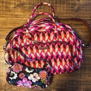 Vera Bradley Weekend Bag & Freebie